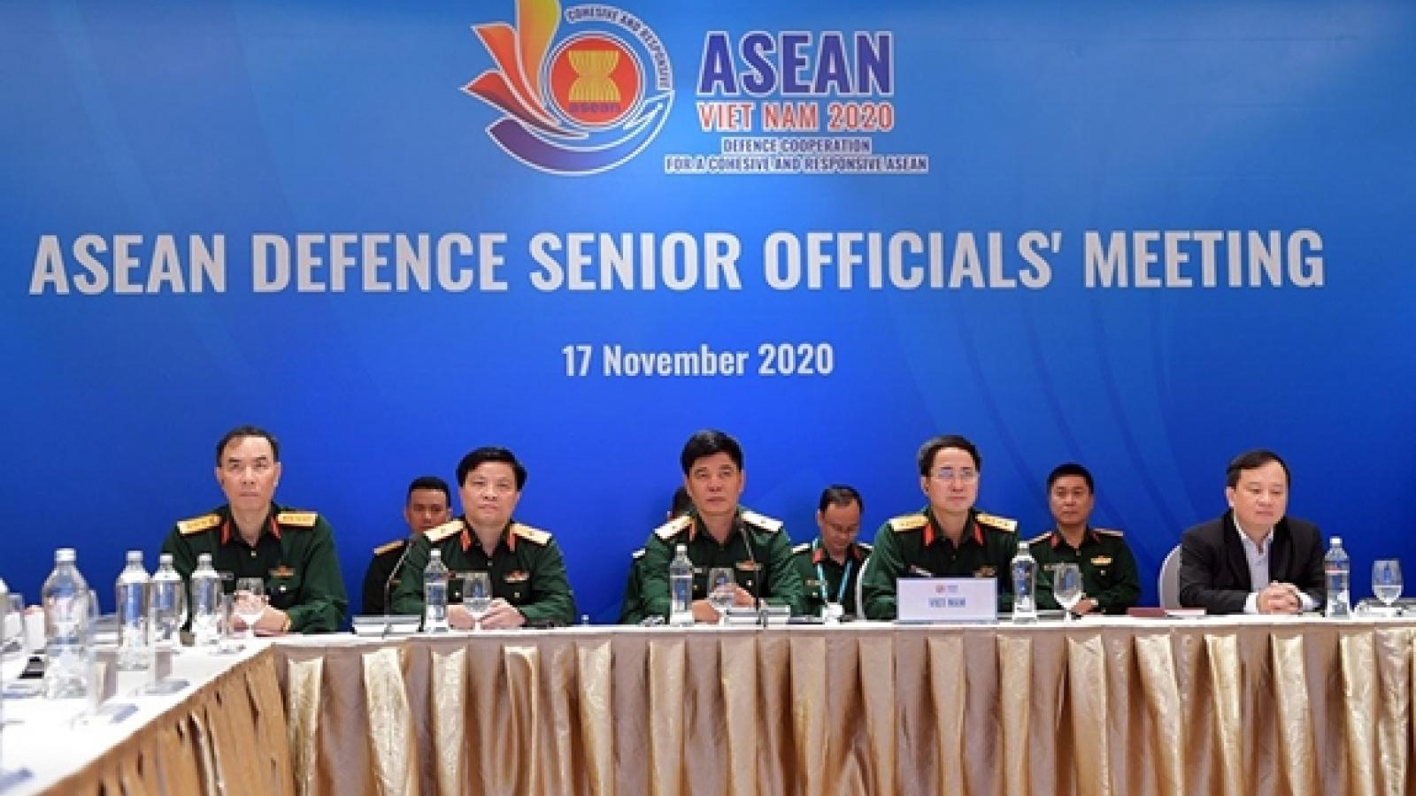 Khai mạc Hội nghị trực tuyến Quan chức Quốc phòng cấp cao ASEAN (ADSOM)