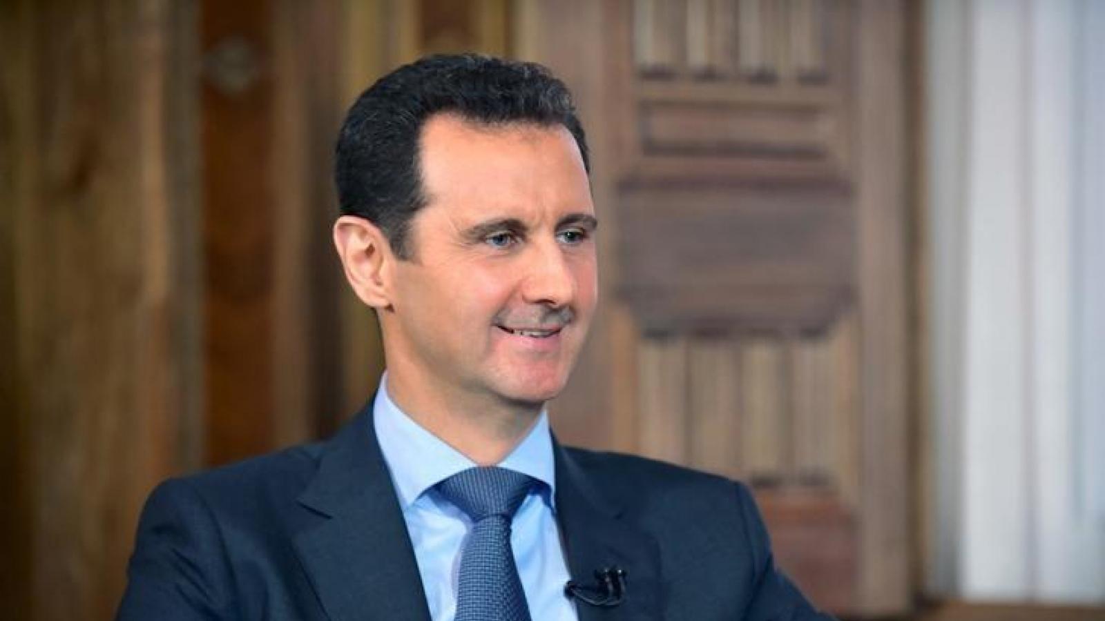 Tổng thống Syria: Mong muốn người tị nạn trở về xây dựng quê hương
