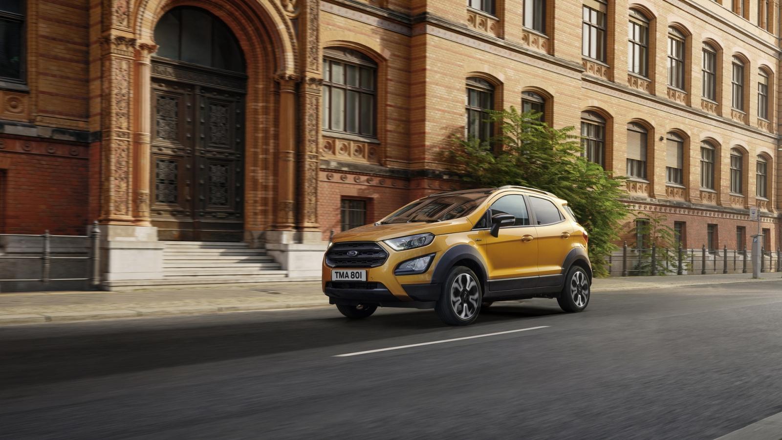 Ford EcoSport Active 2021 chính thức ra mắt