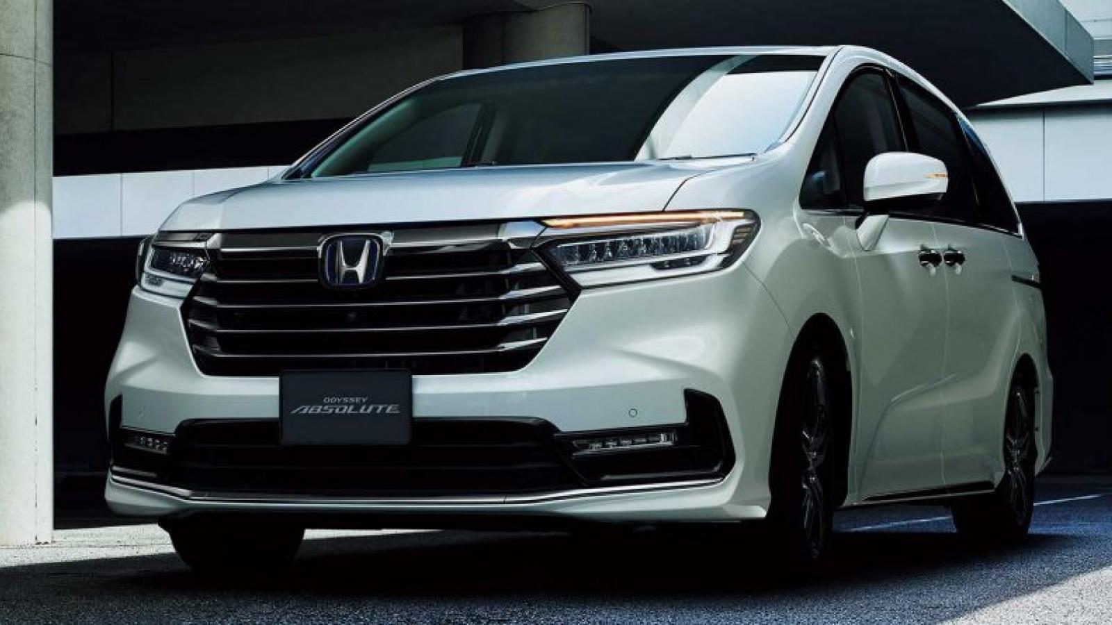 Honda Odyssey 2020 bản nâng cấp chính thức ra mắt