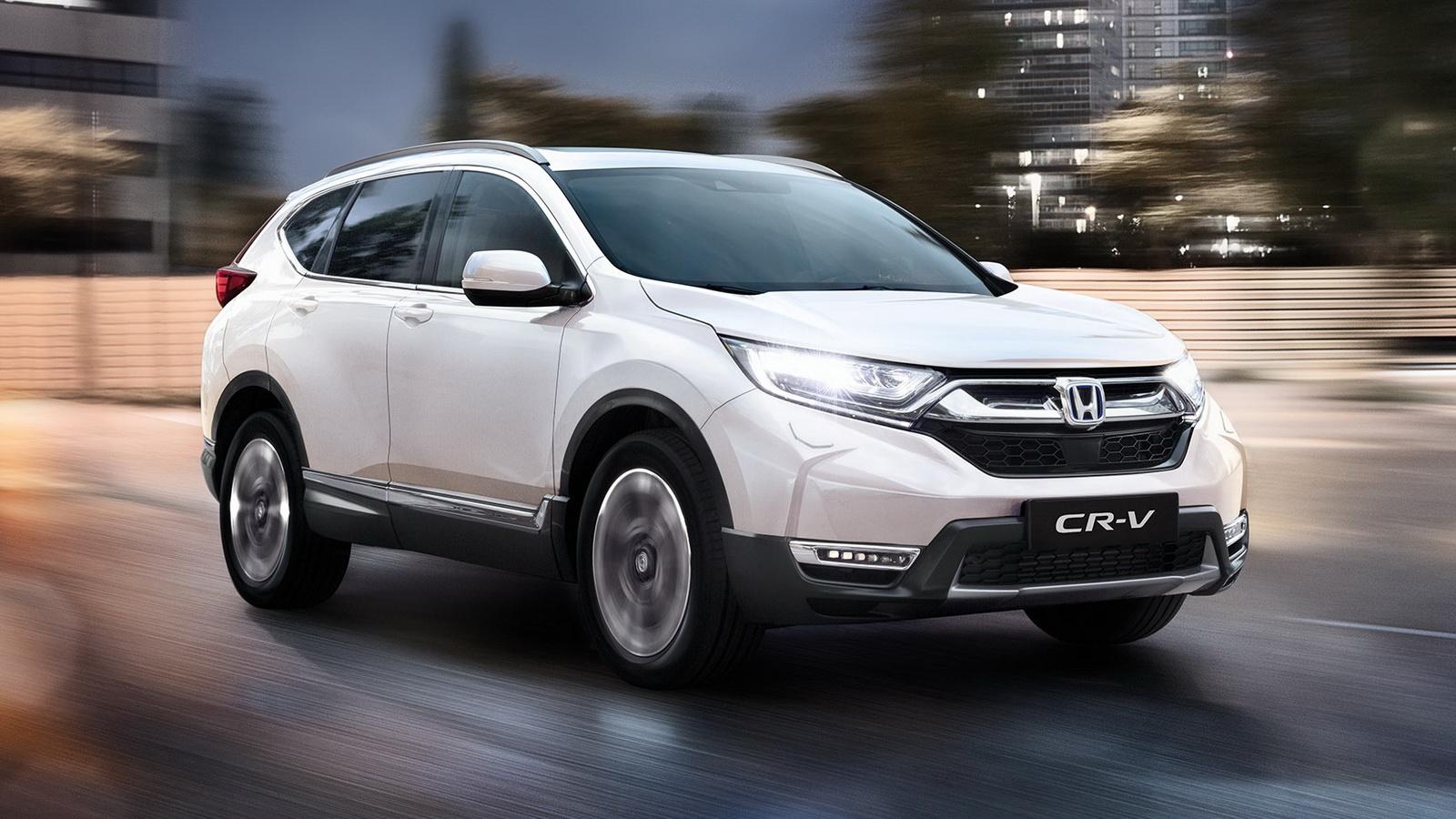 Honda CR-V Hybrid 2021 có giá khởi điểm 30.180 bảng Anh