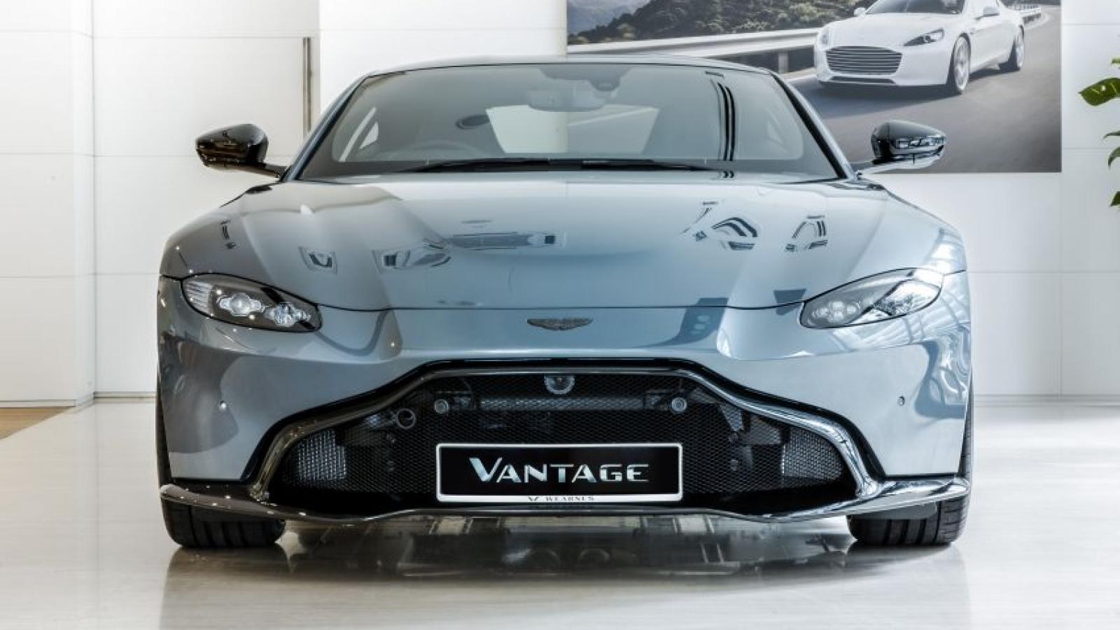 Ngắm nhìn chiếc Aston Martin Vantage Dark Knight giá hơn 163.000 USD