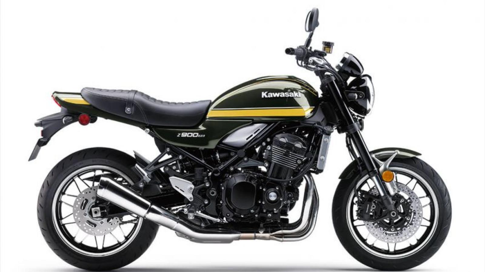 Kawasaki Z900RS 2021 thêm màu sơn mới