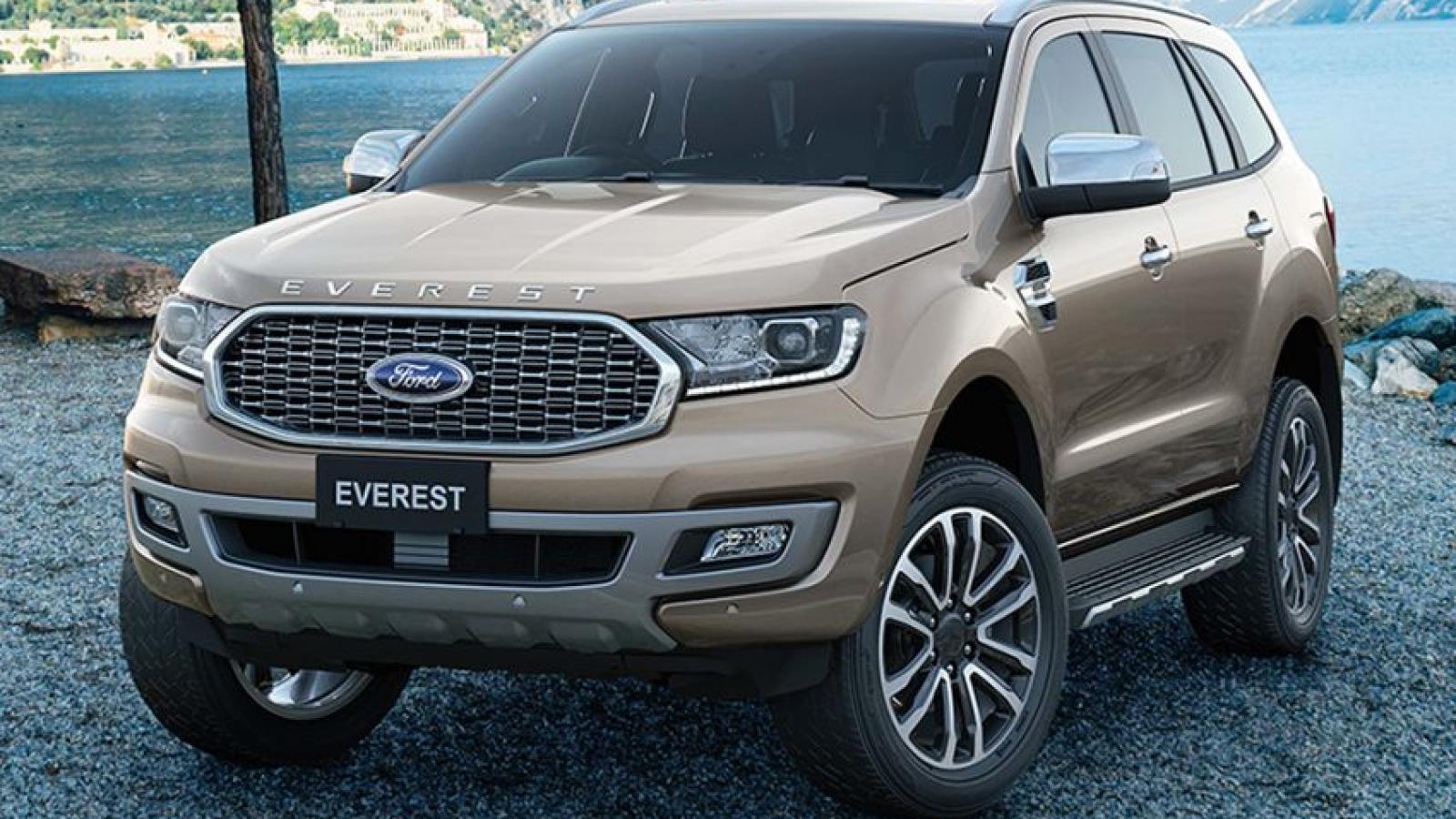 Ford Everest 2021 vừa ra mắt thay đổi những gì?