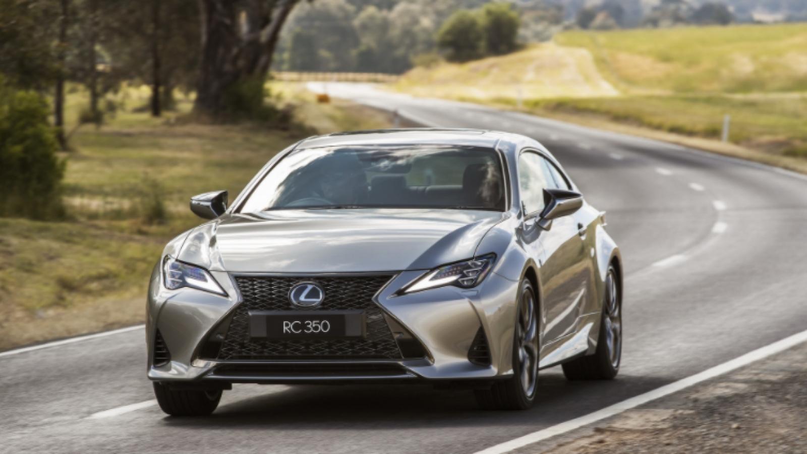 Lexus RC 2021 hấp dẫn hơn với những cải tiến kỹ thuật mới