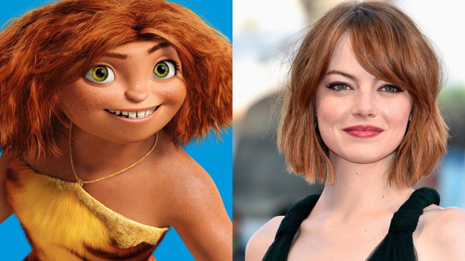 Dàn sao Emma Stone, Ryan Reynolds trở lại lồng tiếng cho Gia đình Croods phần 2