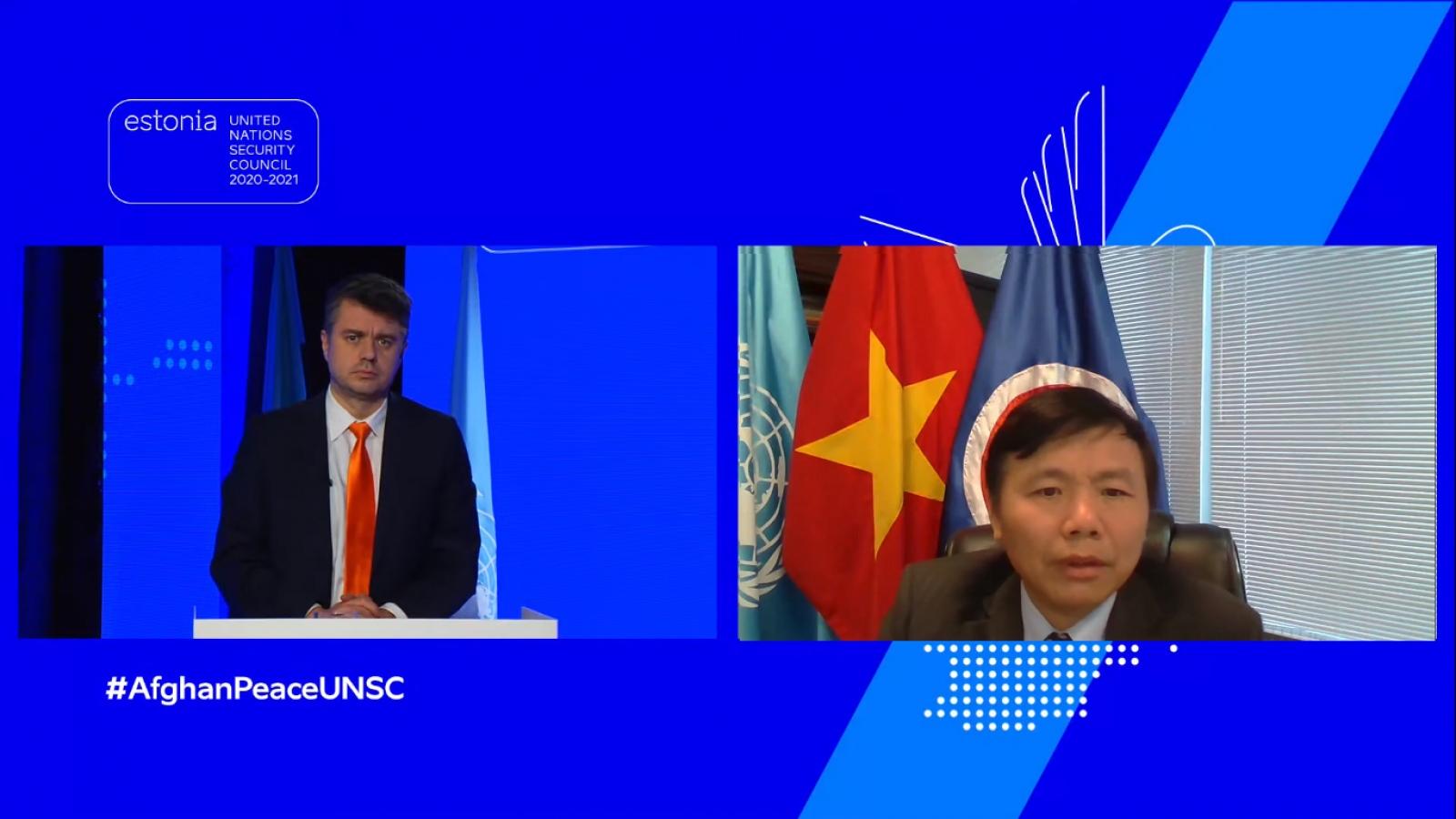 Việt Nam tái khẳng định ủng hộ tiến trình hòa bình do người Afghanistan dẫn dắt và làm chủ