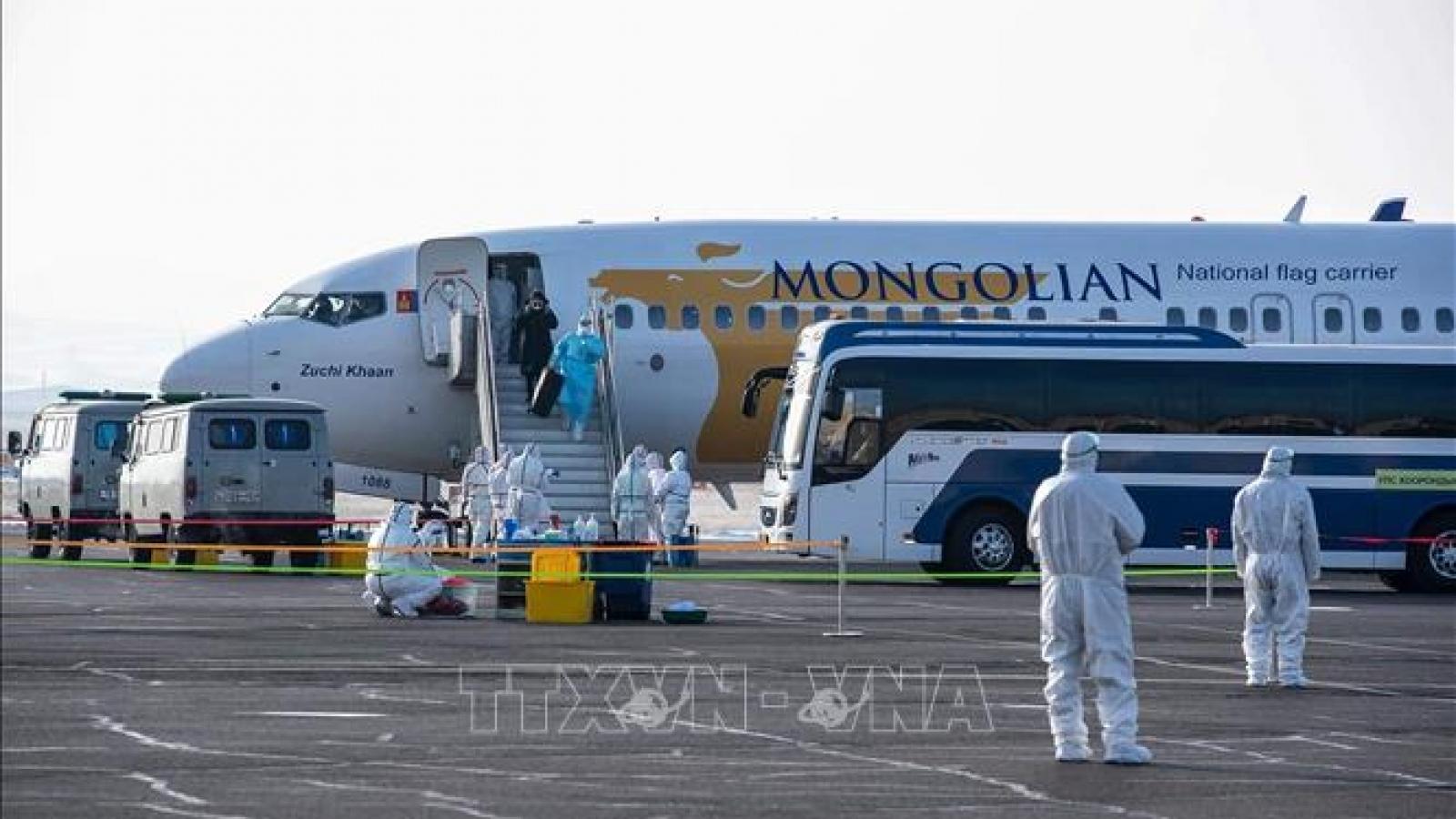 Mông Cổ đã ghi nhận ca lây nhiễm Covid-19 đầu tiên trong cộng đồng