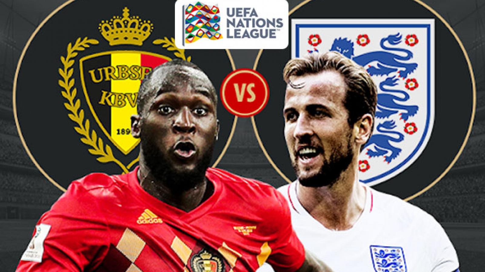 Lịch thi đấu bóng đá hôm nay (15/11): Bỉ - Anh đại chiến