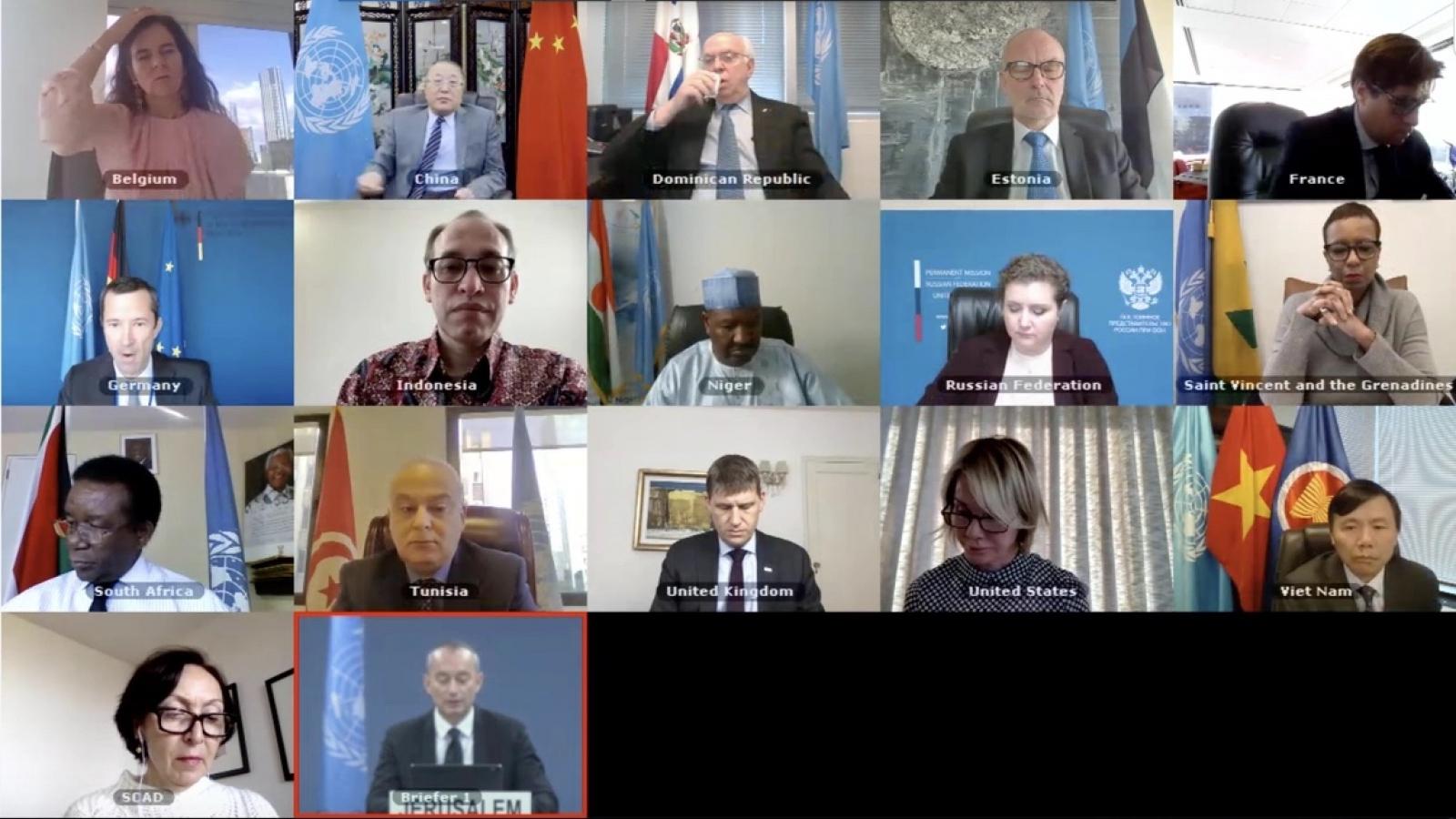 Liên Hợp Quốc quan ngại về tác động của Covid-19 đối với người dân Palestine