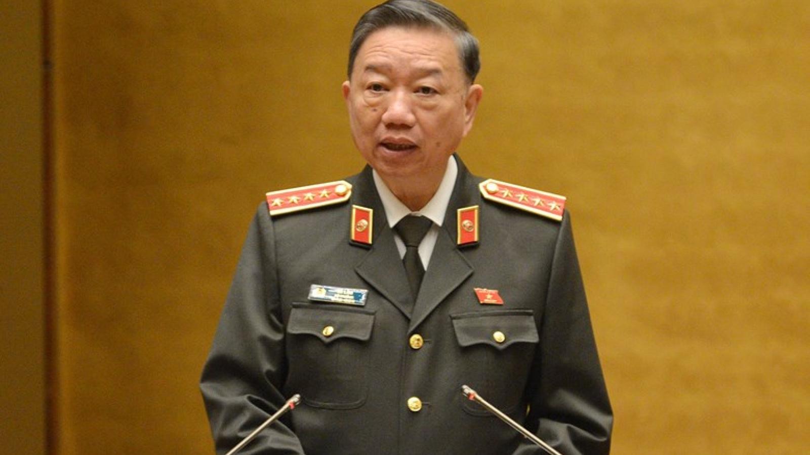 """Bộ trưởng Tô Lâm: """"Bộ Công an không ngại quản lý cơ sở cai nghiện"""""""
