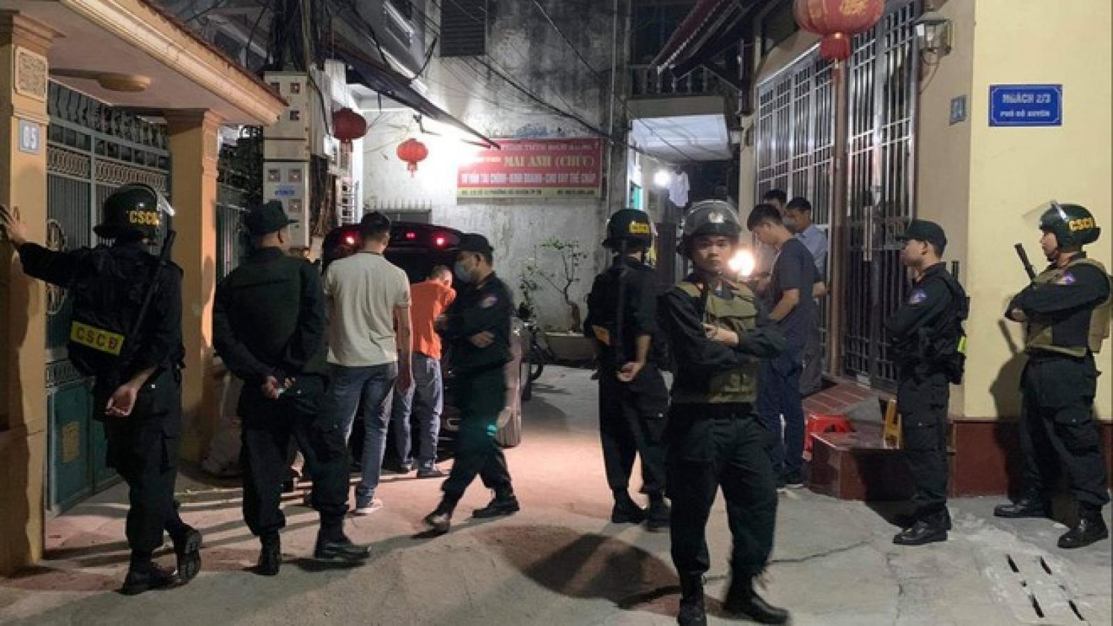 Bắt trùm cho vay nặng lãi Chúc 'Nhị' ở Thái Bình