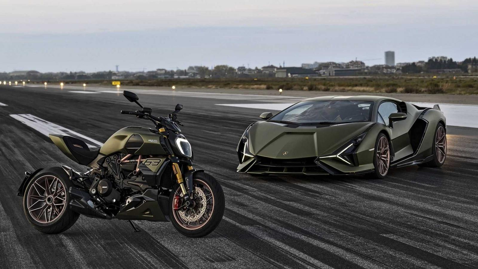 Ducati ra mắt Diavel 1260 lấy cảm hứng từ Lamborghini Sian