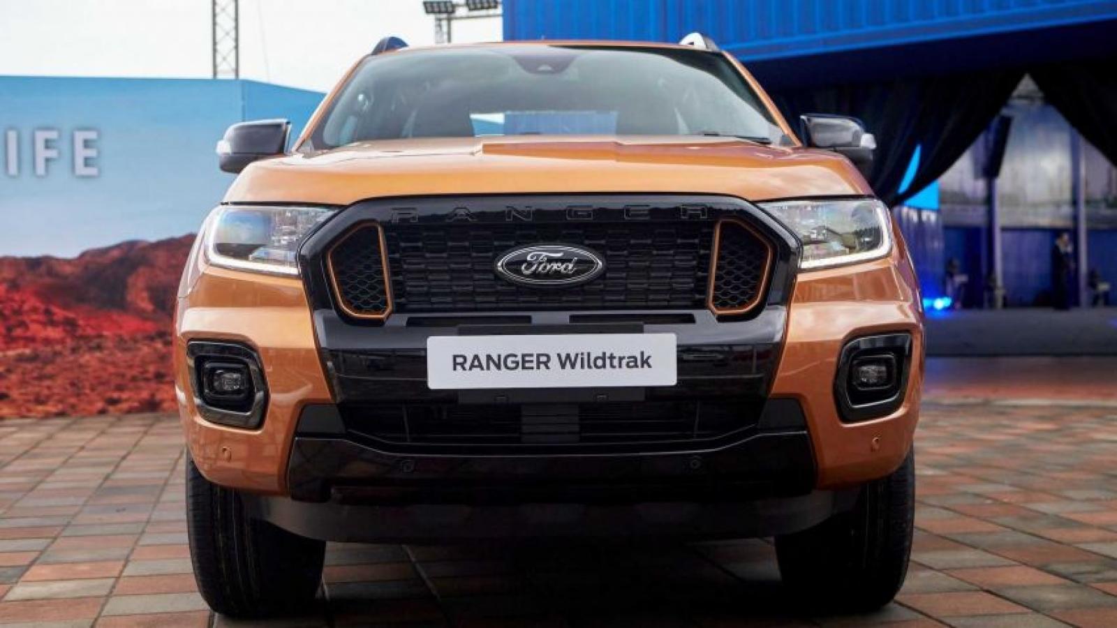 Cận cảnh Ford Ranger 2021 giá từ hơn 21.000 USD