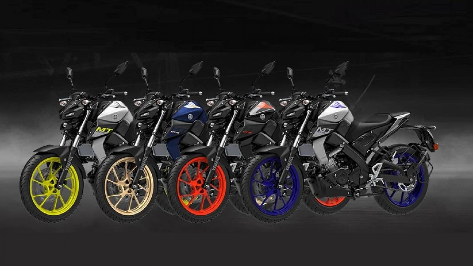 Yamaha MT-15 2021 có thêm gói tùy chọn màu sắc mới