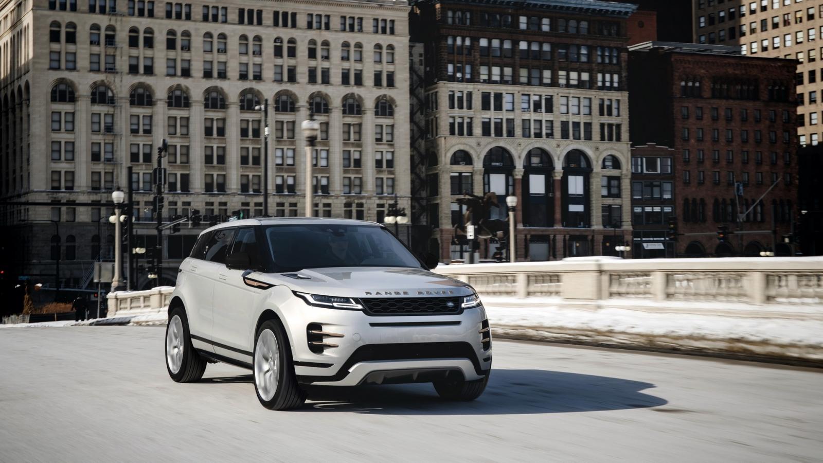 Range Rover Evoque 2021 ra mắt với giá từ 1 tỷ đồng