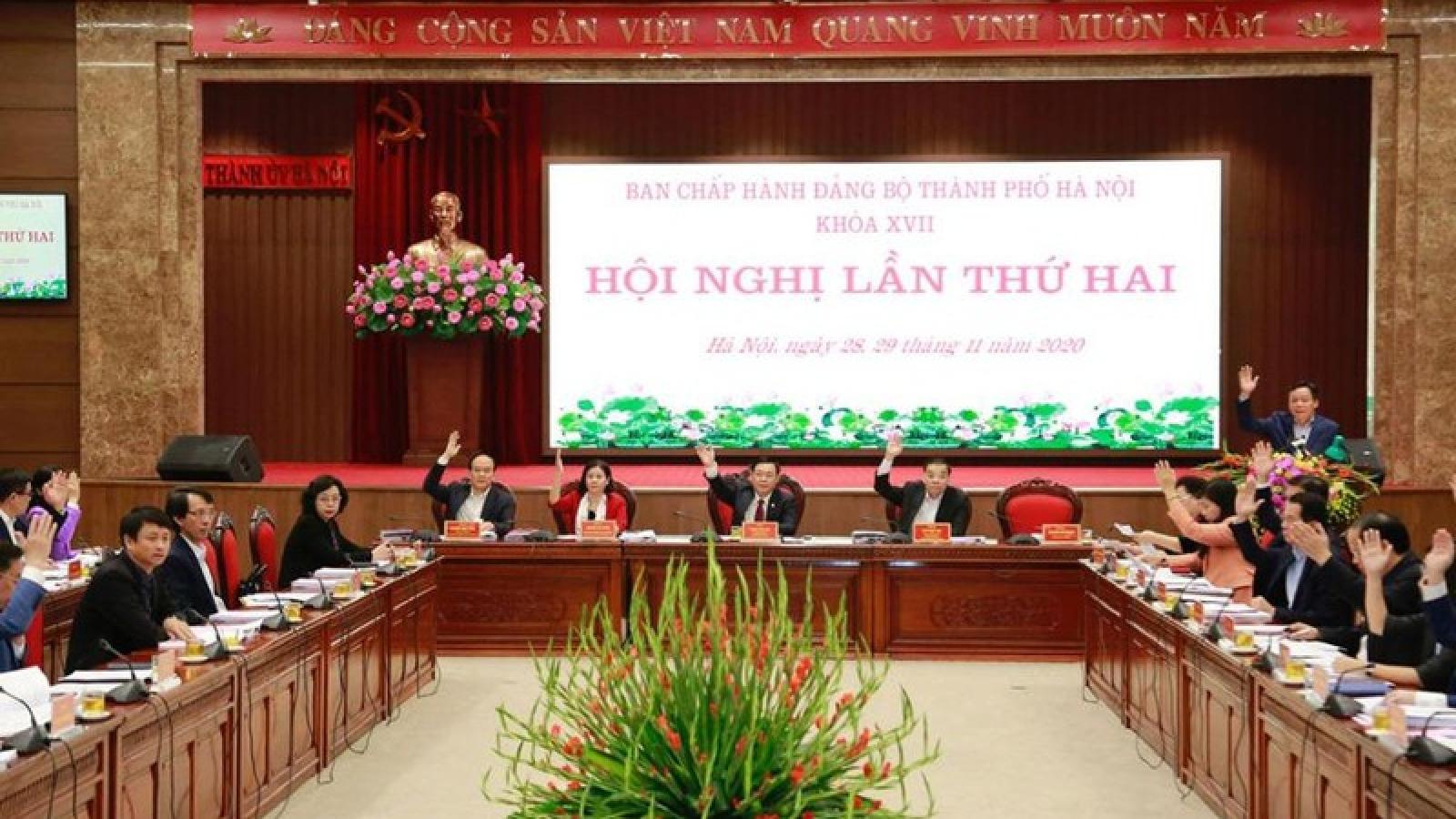 Khai mạc Hội nghị lần thứ 2 Ban Chấp hành Đảng bộ Hà Nội