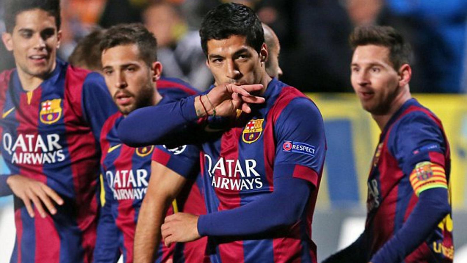 Ngày này năm xưa: Suarez ghi bàn đầu tiên cho Barca