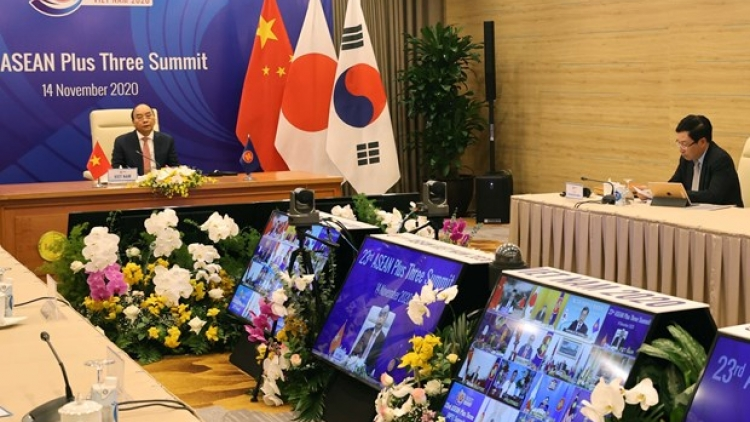 ASEAN+3 vow to beef up cooperation amidst COVID-19