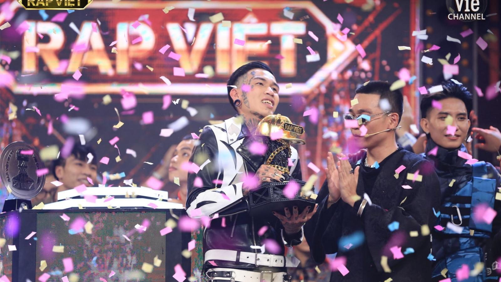Dế Choắt đăng quang ngôi vị Quán quân Rap Việt 2020