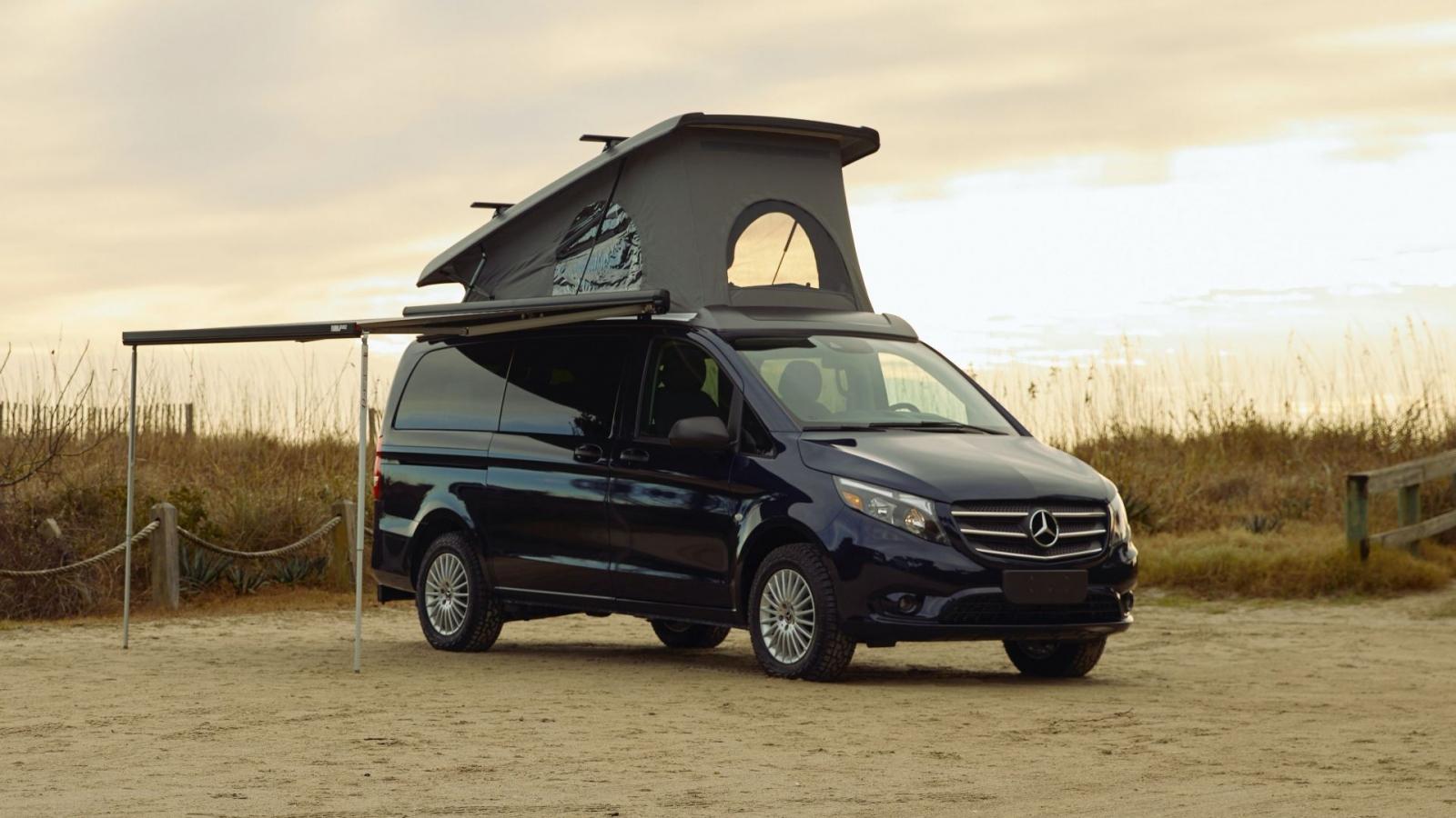 Mercedes Metris Getaway - mẫu xe cho người thích cắm trại