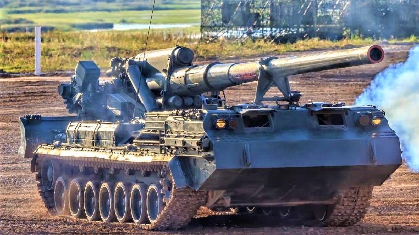 """Pháo tự hành chết chóc nhất thế giới """"Malka"""" sẽ được trang bị đạn thế hệ mới"""
