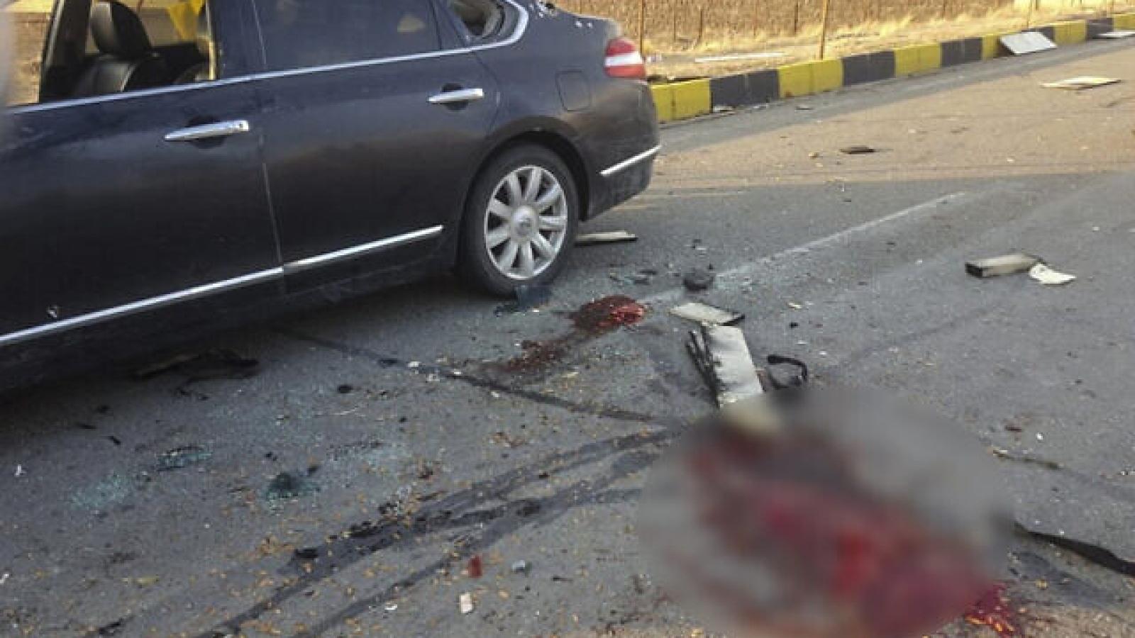 Hiện trường vụ ám sát nhà khoa học hạt nhân Iran gây rúng động Trung Đông