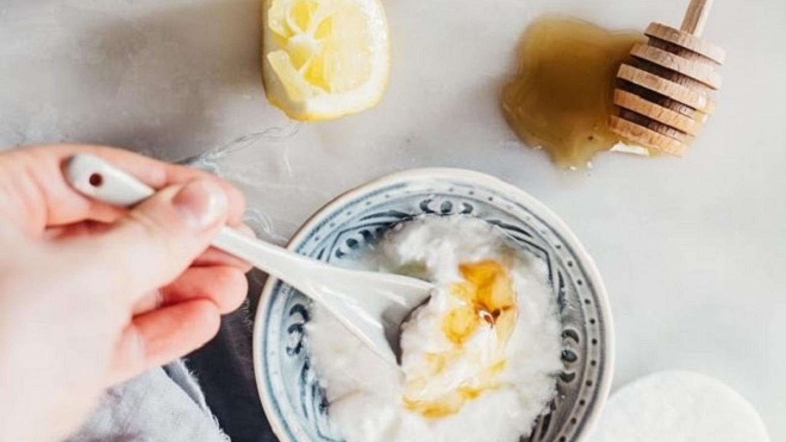 Công thức làm đẹp vô cùng đơn giản mà hiệu quả từ sữa chua