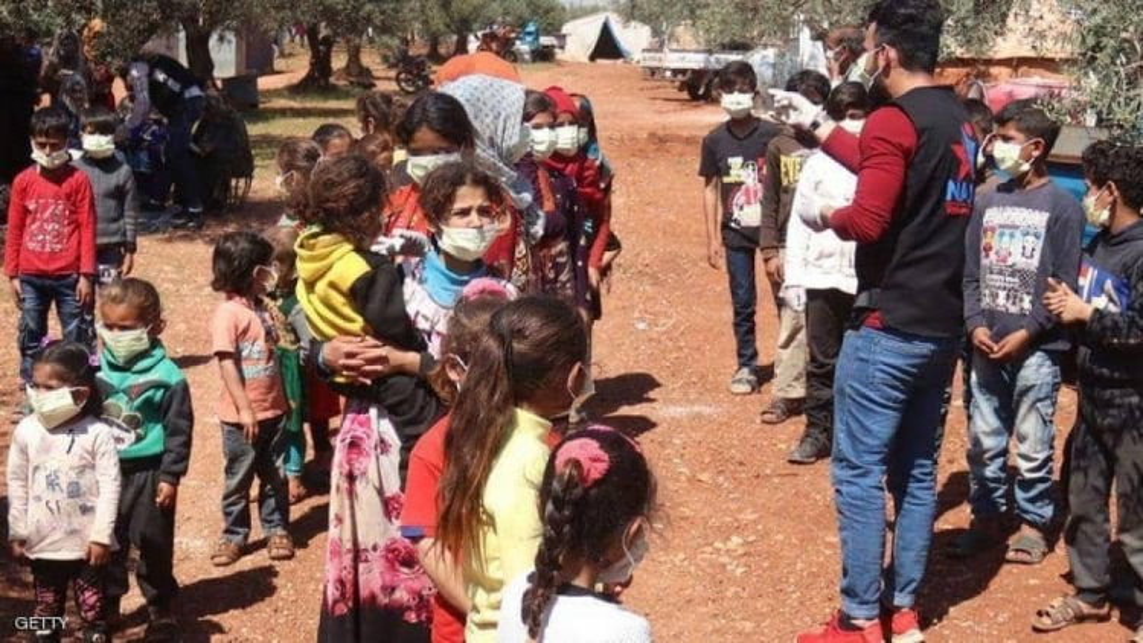 Lây lan Covid-19 trong các trại tị nạn ở Syria sẽ biến thành thảm họa
