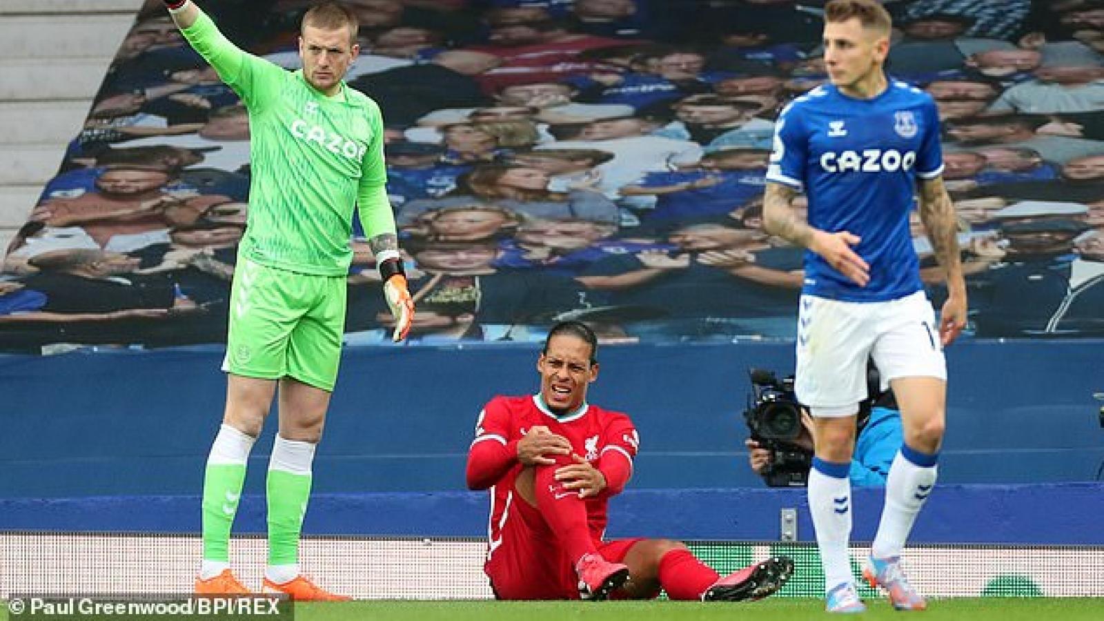 Van Dijk hồi phục thần tốc, có thể trở lại thi đấu vào cuối mùa