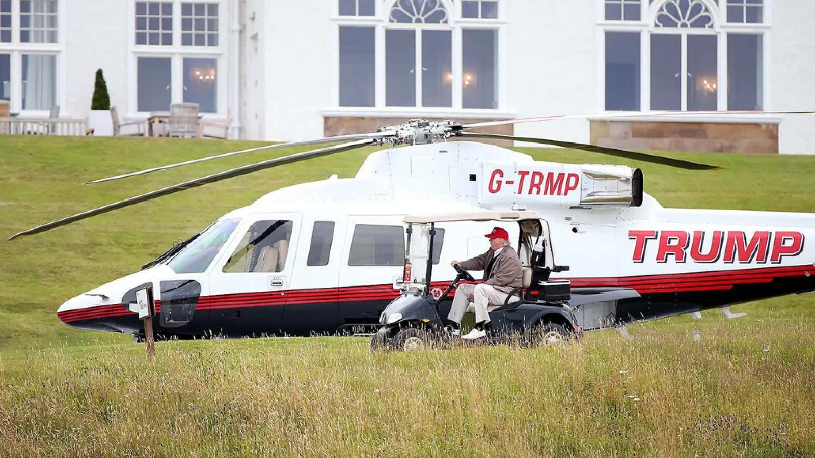 Khám phá chiếc máy bay mà ông Donald Trump đang rao bán