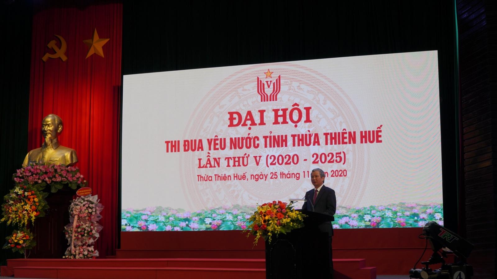 Hơn 300 đại biểu dự Đại hội thi đua yêu nước tỉnh Thừa Thiên Huế lần thứ V