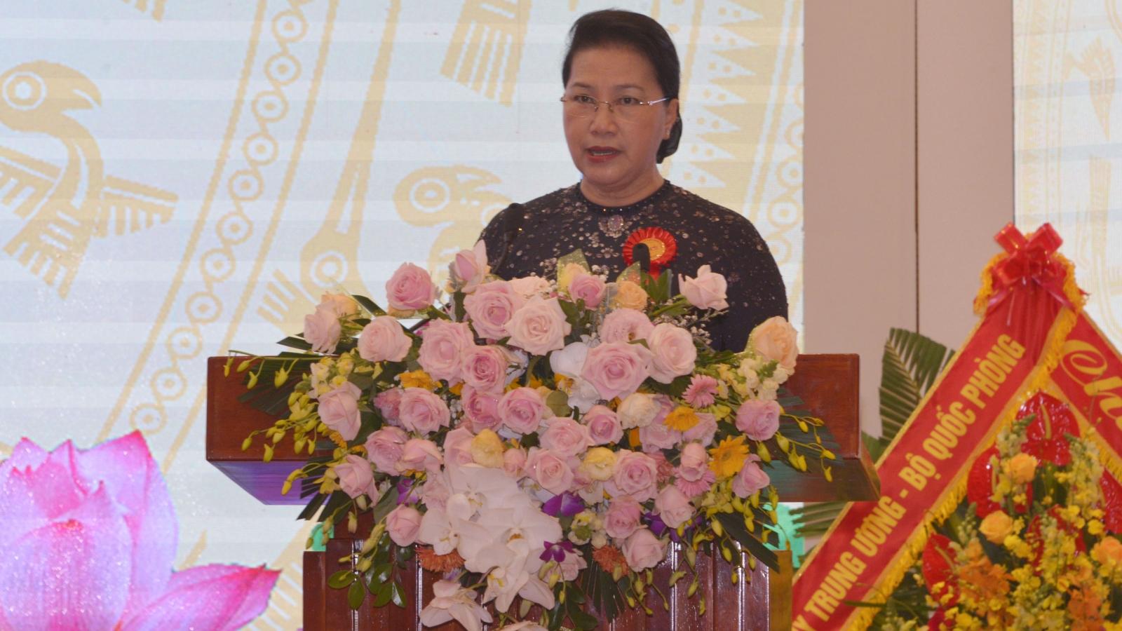 Chủ tịch Quốc hội dự Đại hội Thi đua yêu nước ngành Tư pháp lần thứ V