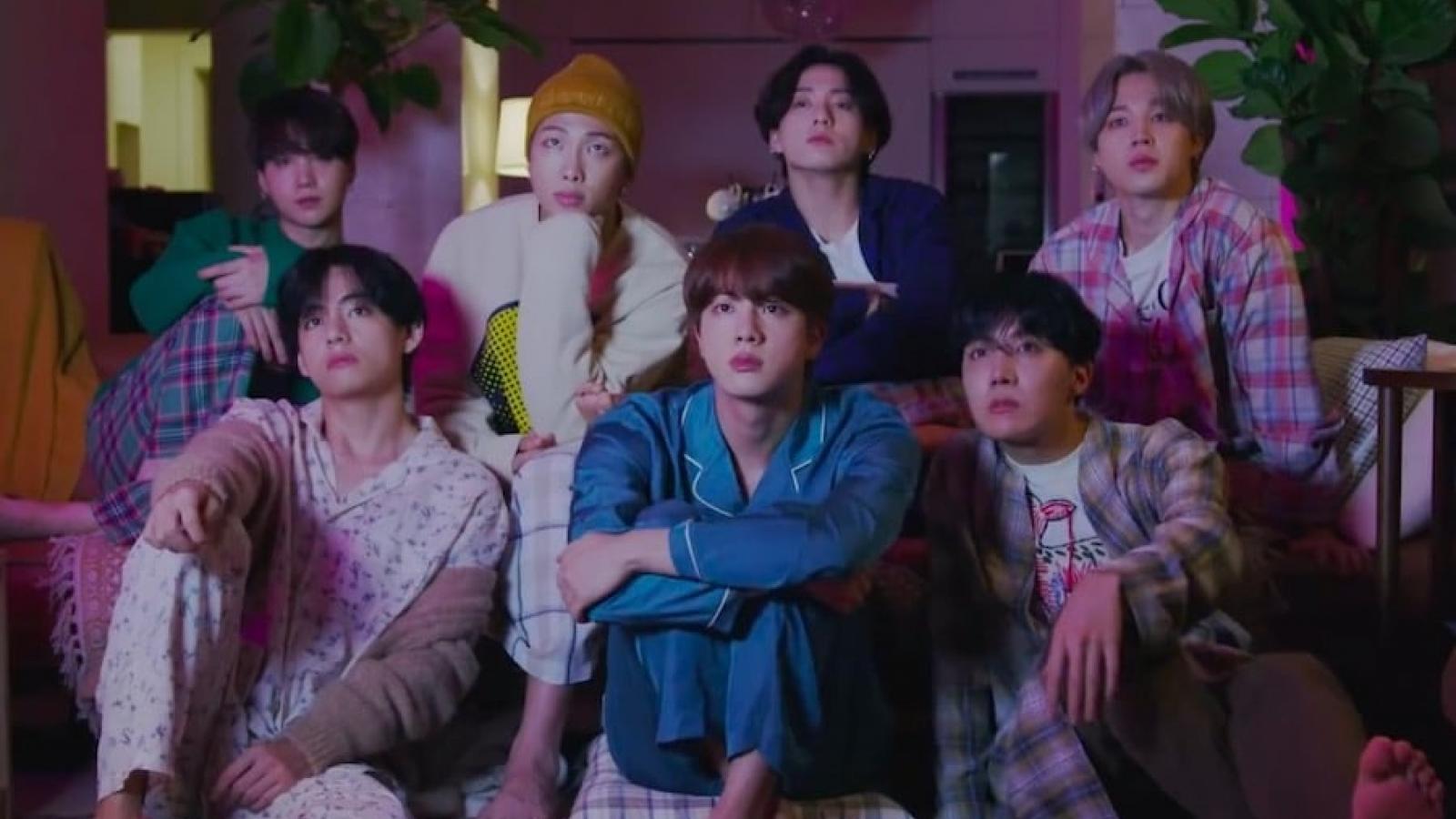 """BTS ngọt ngào, ấm áp trong teaser MV """"Life goes on"""""""