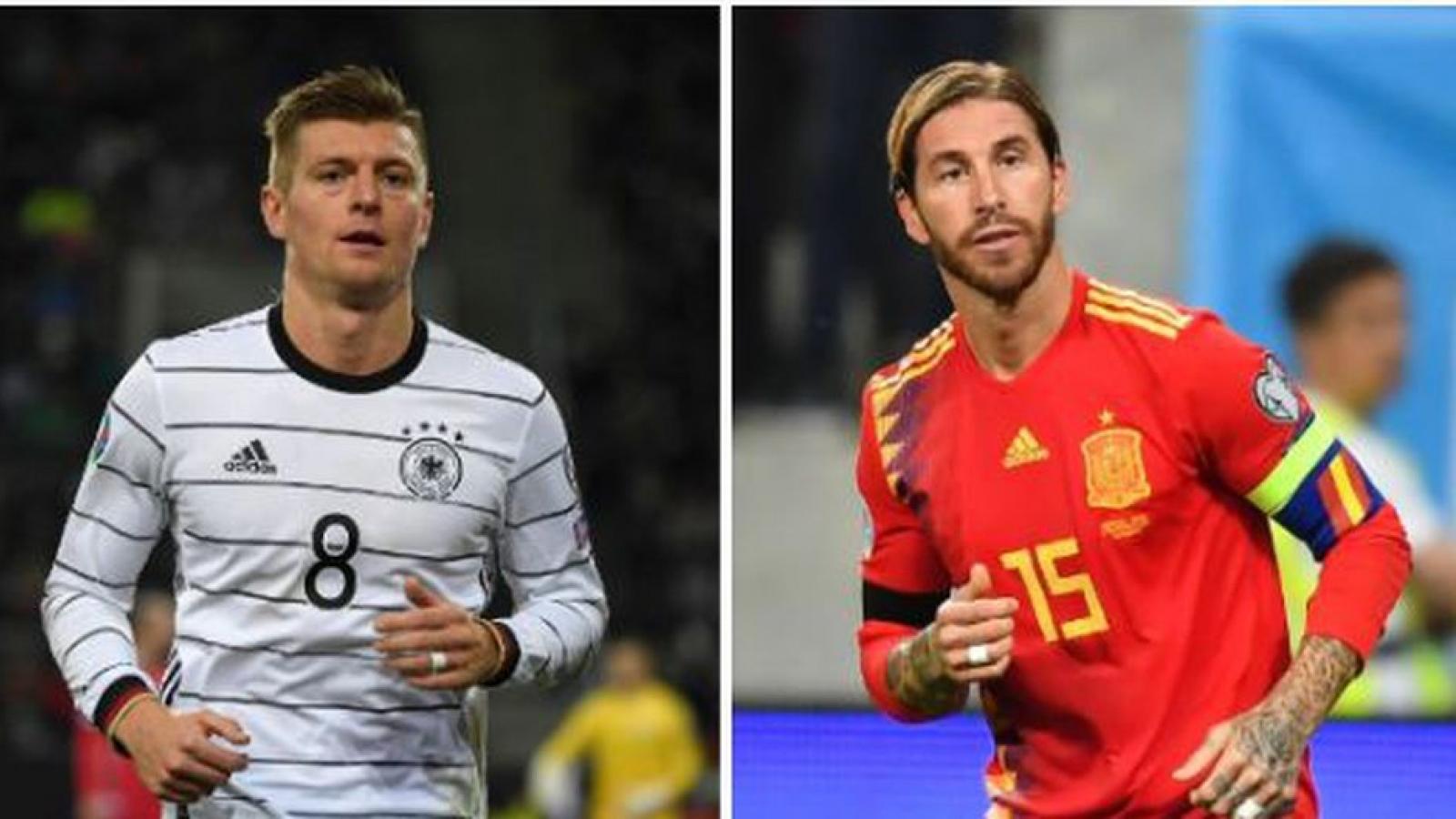 Lịch thi đấu bóng đá hôm nay (17/11): Tây Ban Nha quyết đấu Đức