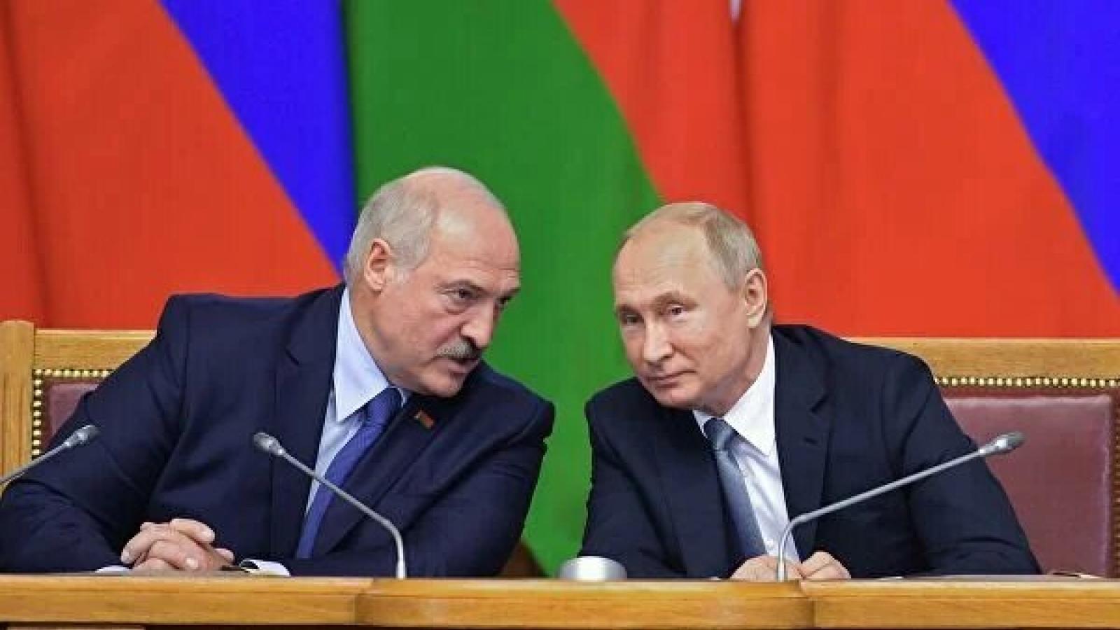 Hai nhà lãnh đạo Nga và Belarus điện đàm về vấn đề hợp tác song phương