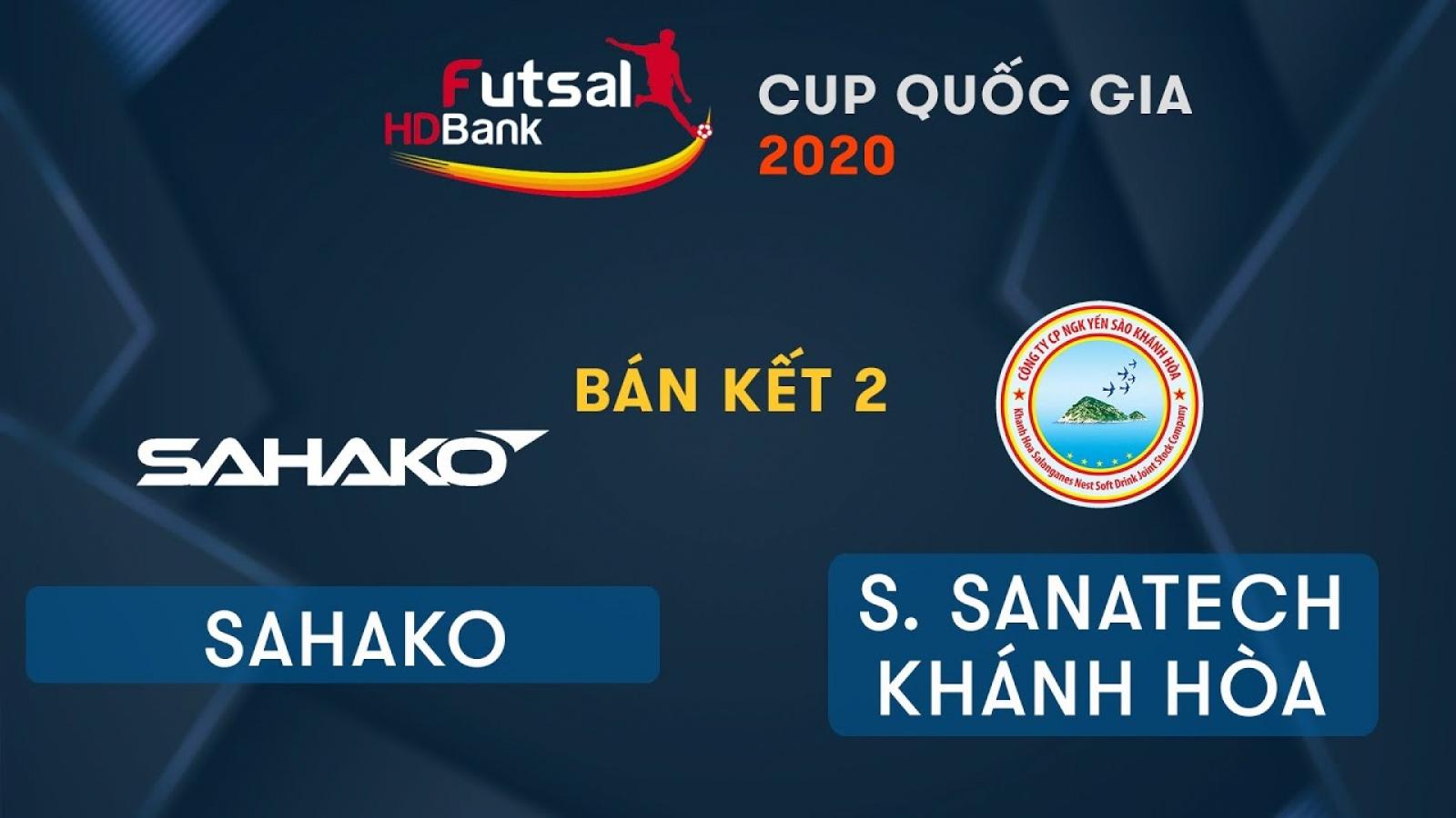 TRỰC TIẾP Sahako vs Sanvinest Sanatech Khánh Hòa