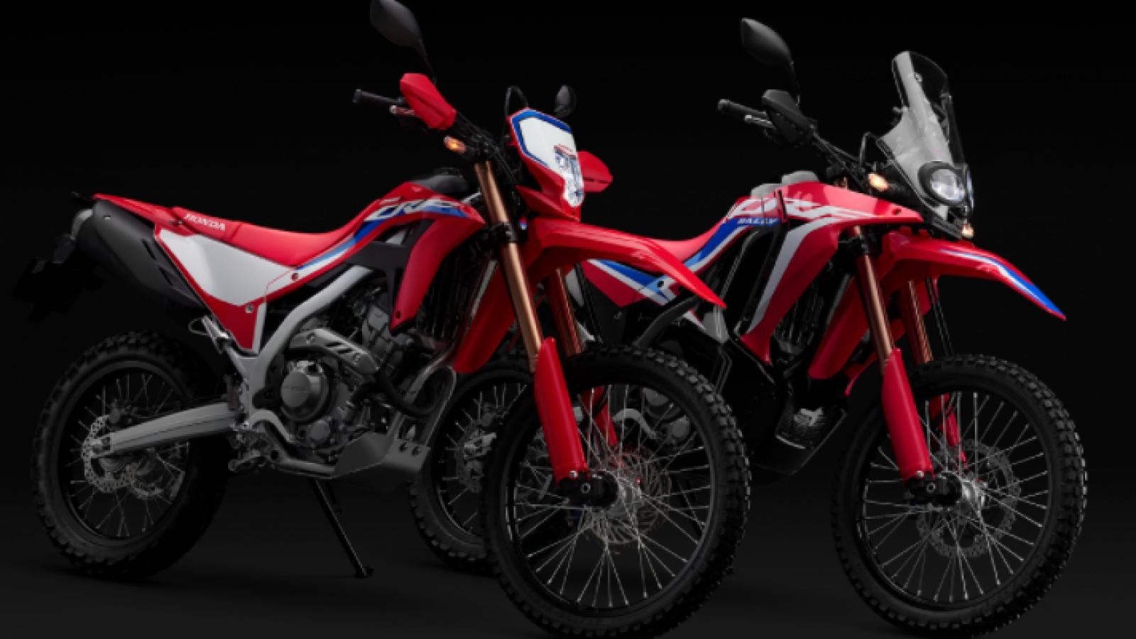 Honda CRF250L, CRF250L Rally 2021 sắp ra mắt với nhiều thay đổi