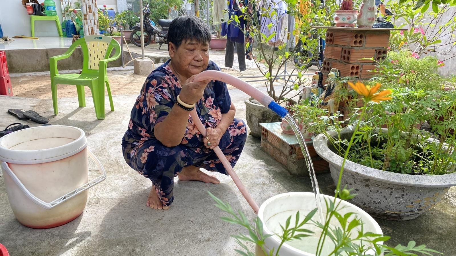 320 hộ dân thị xã Phú Mỹ có nước máy sử dụng sau nhiều năm chờ đợi