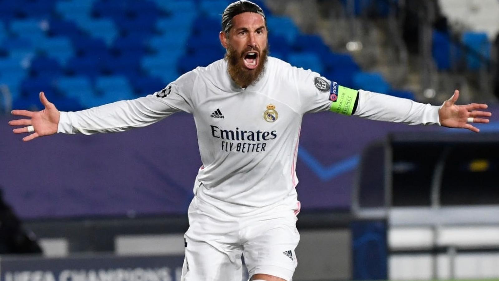 Ramos ghi bàn, Real Madrid thắng kịch tính Inter Milan