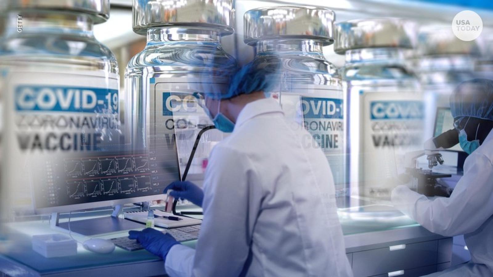 Mỹ dự kiến phân phối 6,4 triệu liều vaccine ngừa Covid-19 của Pfizer từ giữa tháng 12