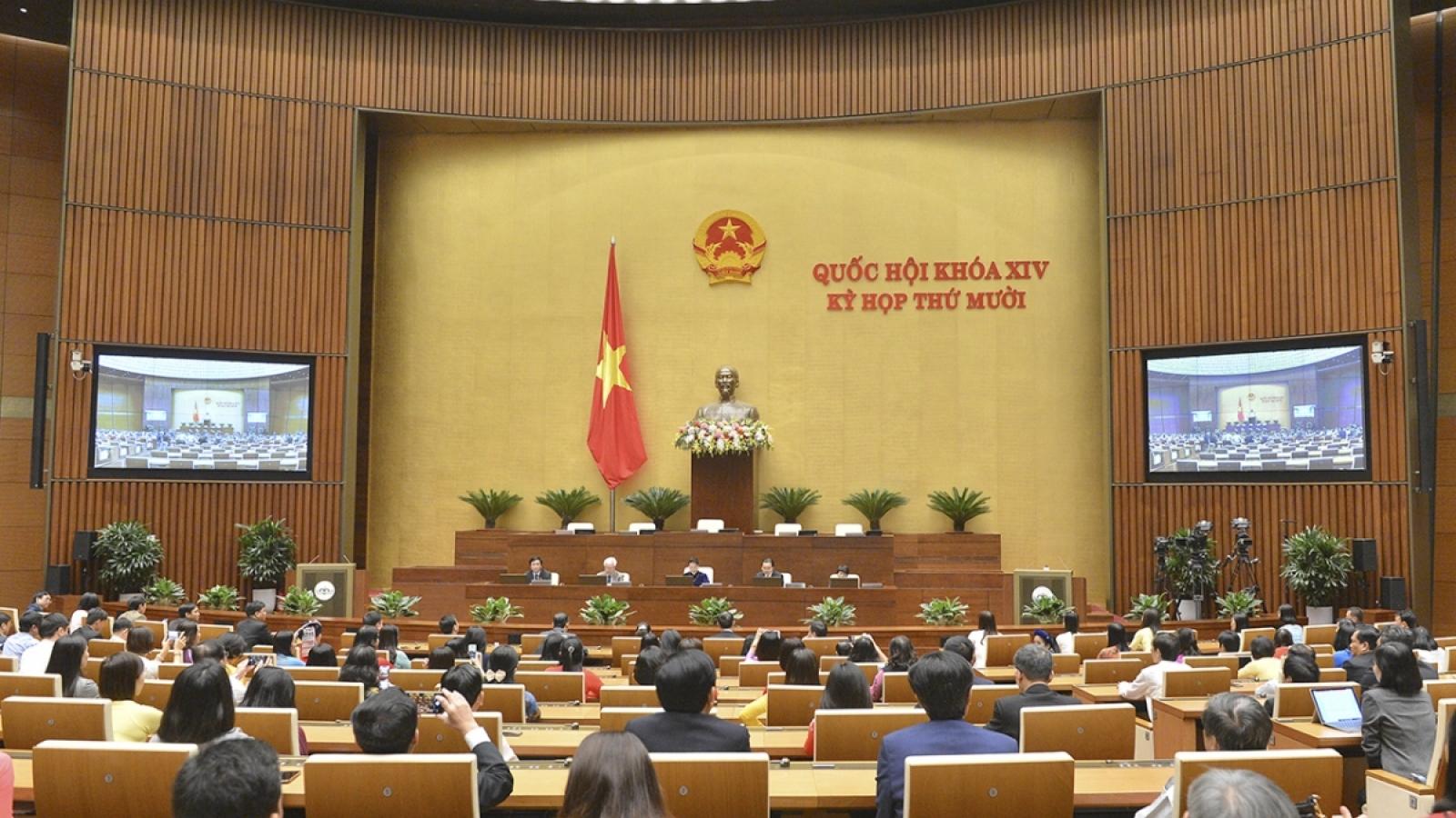 302 đại biểu Quốc hội không đồng ý tách Luật Giao thông đường bộ