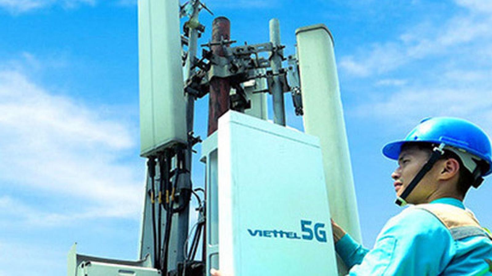 Viettel và MobiFone bắt đầu thử nghiệm thương mại mạng 5G