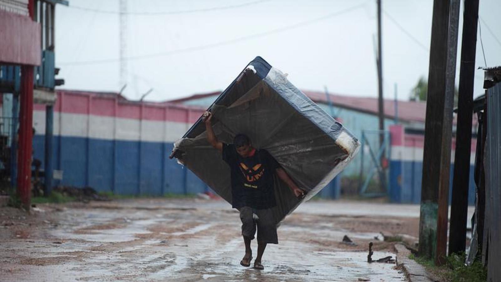 Bão Iota tàn phá khu vực Trung Mỹ