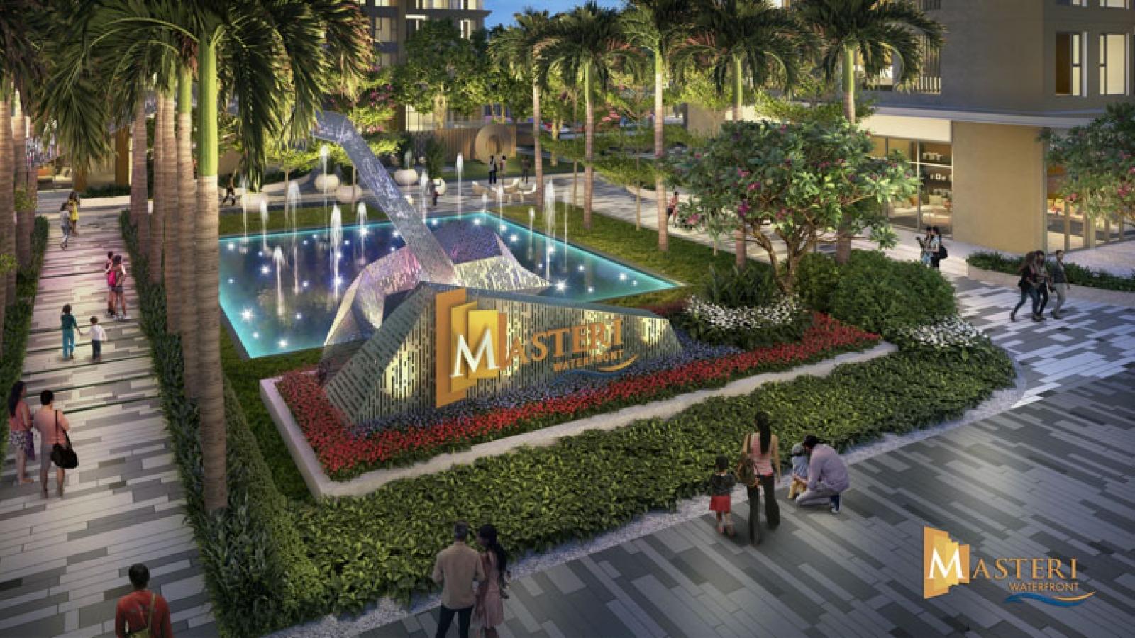 """Masteri Waterfront – Dự án độc chiếm """"tọa độ vàng"""" tại Vinhomes Ocean Park"""