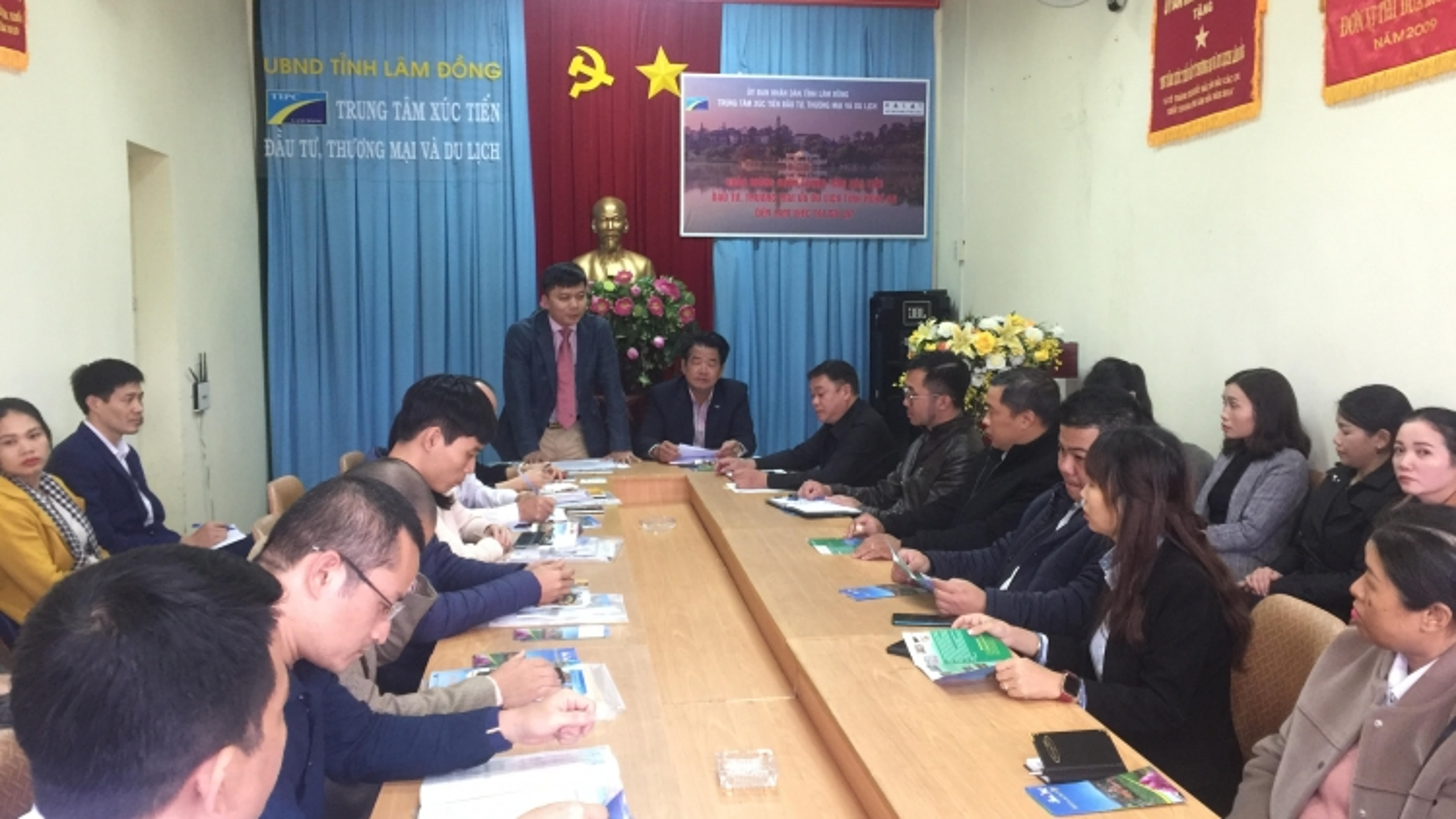Lâm Đồng và Nghệ An đề xuất cùng hợp tác xúc tiến, quảng bá du lịch