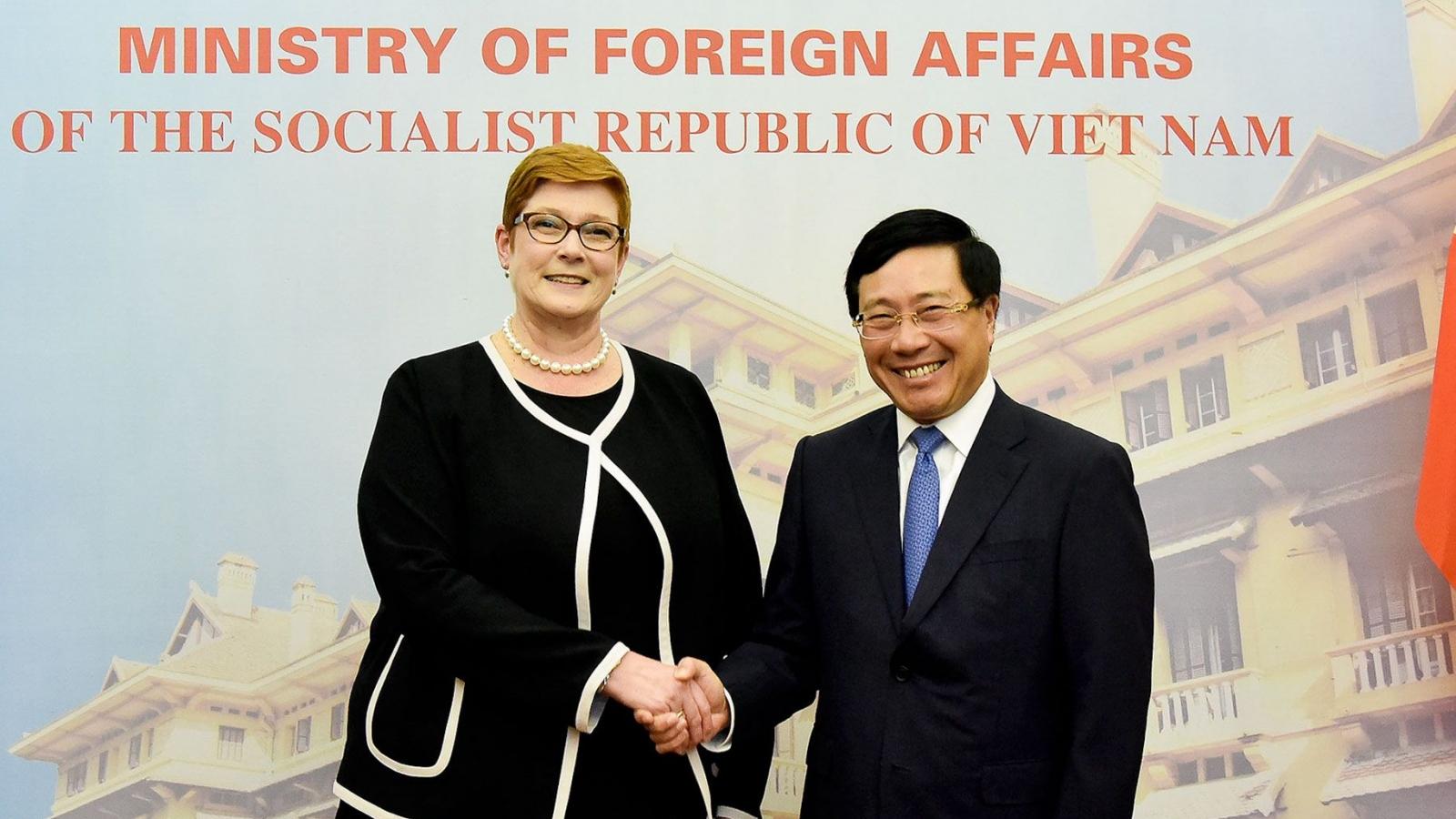 Australia luôn sát cánh và sẵn sàng hỗ trợ Việt Nam