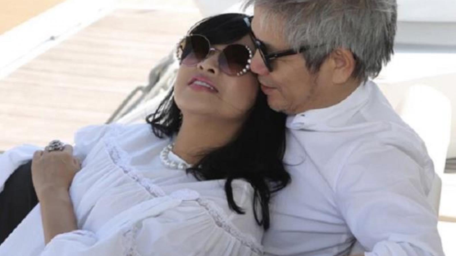 Chuyện showbiz: Thanh Lam và bạn trai bác sĩ tình tứ trên du thuyền