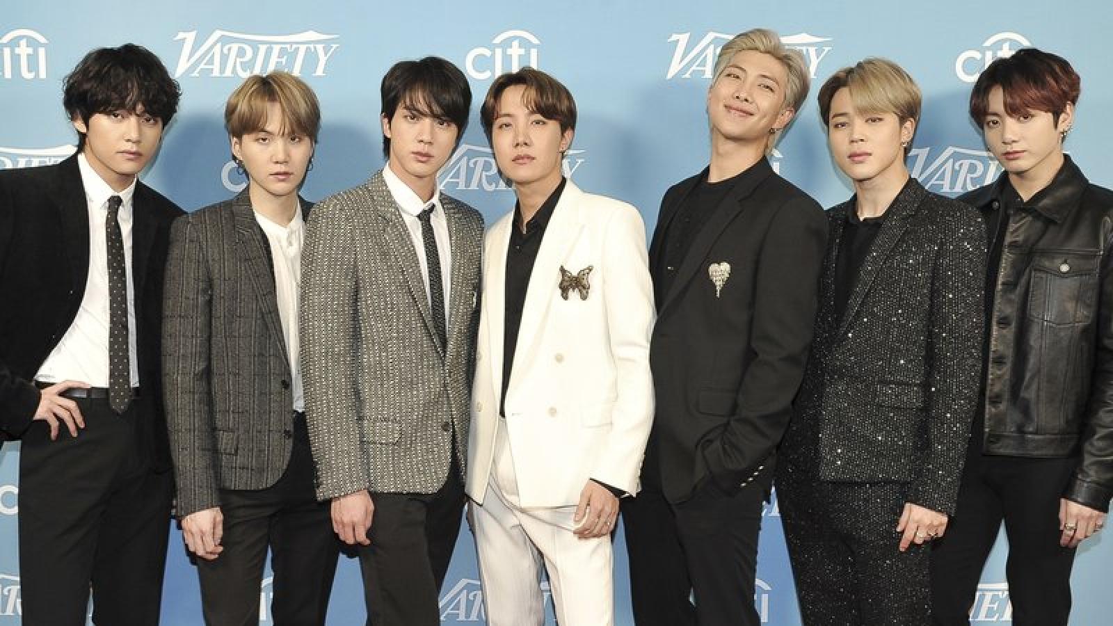 BTS đại thắng tại lễ trao giải MTV European Music Awards