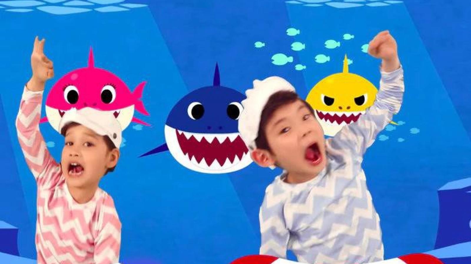 """""""Baby shark"""" vượt """"Despacito"""" thành MV có nhiều lượt xem nhất trên Youtube"""